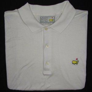 AUGUSTA NATIONAL GOLF SHOP  Cotton Polo Golf Shirt